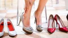 Як вибрати взуття, безпечну для здоров`я?