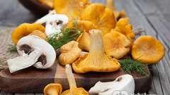Калорійність грибів