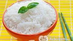 Калорійність рису