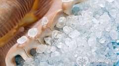 Морська сіль: корисні властивості