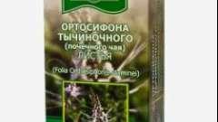 Ортосифона тичинкового (ниркового чаю) листя
